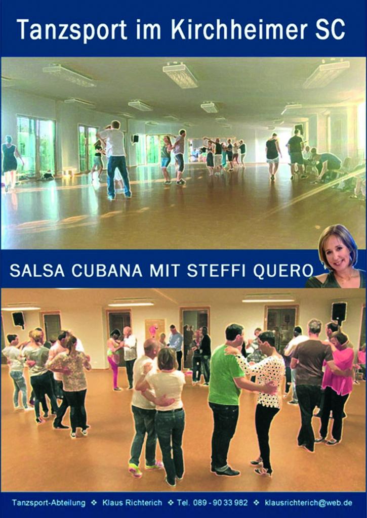 Salsa Cubana – Gratis Schnupperstunden und neuer Anfängerkurs